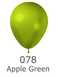 couleur ballon latex publicitaire metalic apple green