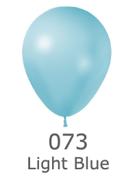 couleur ballon latex publicitaire metalic light blue